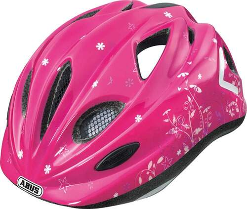 Abus Super Chilly Cykelhjelm Pink