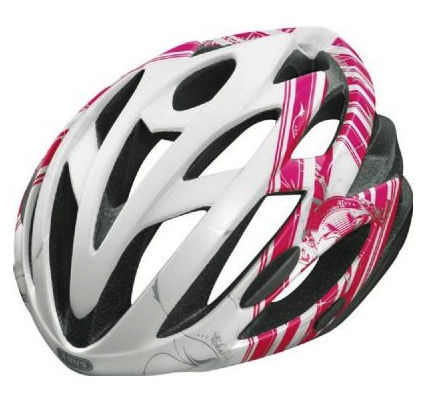 Abus S-Force Road Cykelhjelm Hvid/pink 58-62 cm